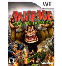 Wii Rampage Total Destruction (Brand New)