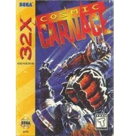 Sega 32X Cosmic Carnage (CIB, Damaged Box)