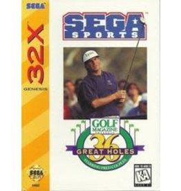 Sega 32X Golf Magazine Presents 36 Great Holes Starring Fred Couples (CIB)