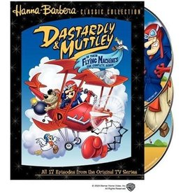 Animated Dastardly & Muttley in Their Flying Machines The Complete Series (Brand New)
