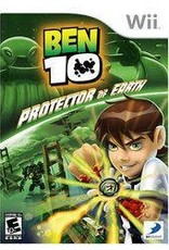 Wii Ben 10 Protector of Earth (No Manual, Water Damage Label)