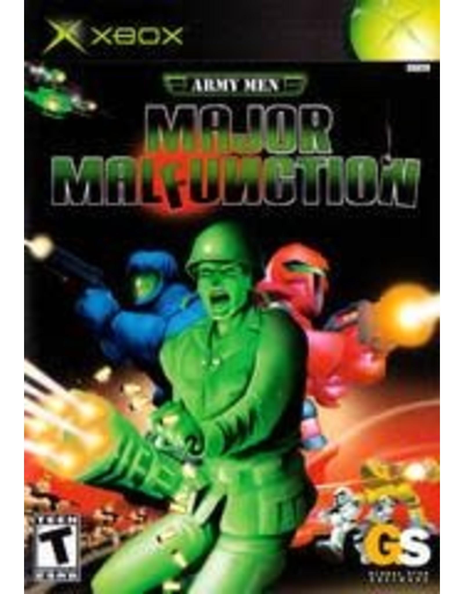 Xbox Army Men Major Malfunction (CiB)