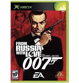 Xbox 007 From Russia With Love (CiB, Damaged Label )