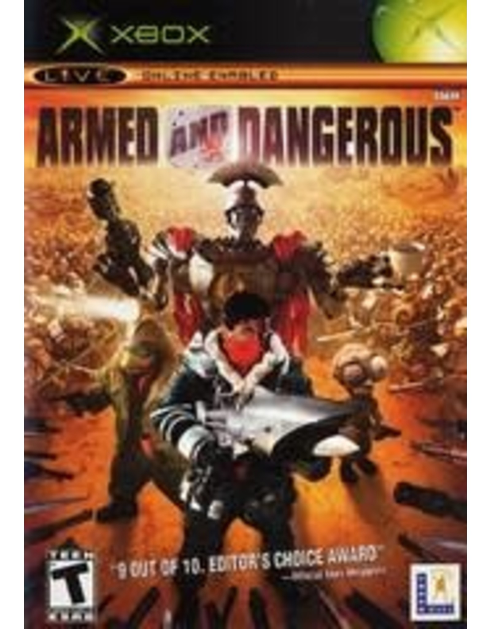 Xbox Armed and Dangerous (CiB)