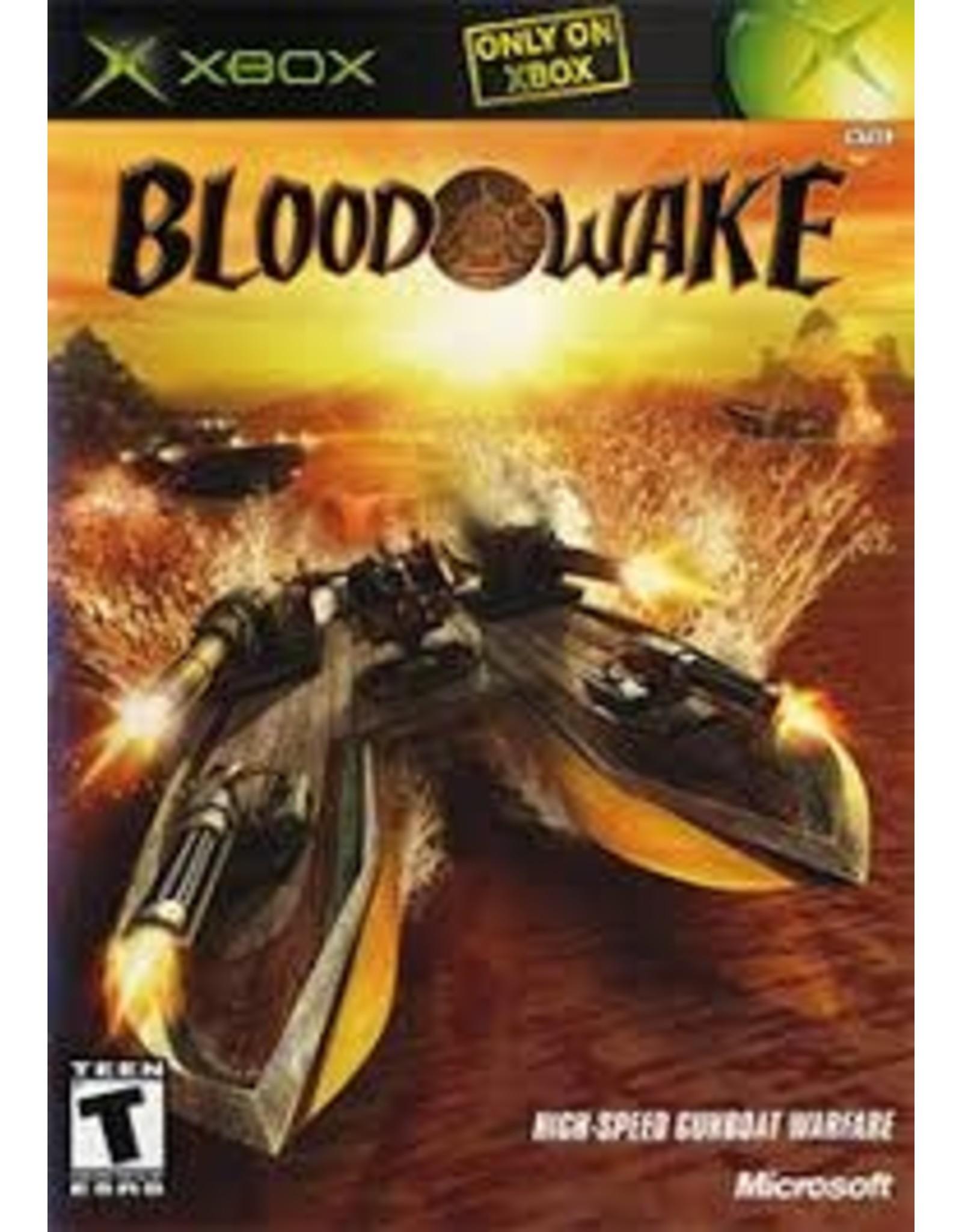 Xbox Blood Wake (No Manual)