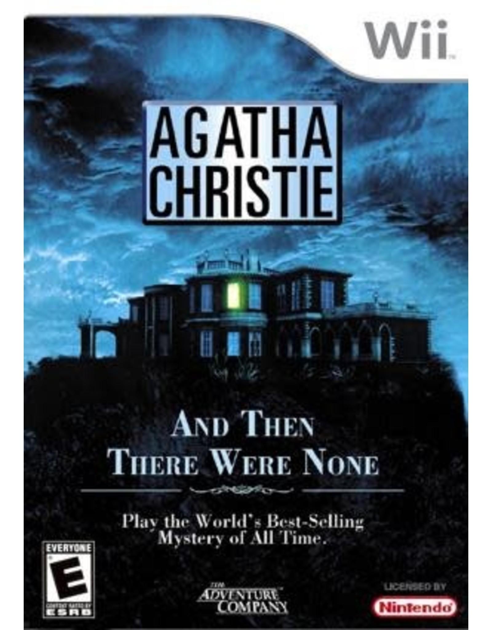 Wii Agatha Christie And Then There Were None (CiB)