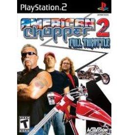 Playstation 2 American Chopper 2 Full Throttle (CiB)