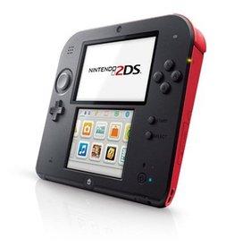 Nintendo 3DS Nintendo 2DS Black Red (Used)