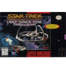 Super Nintendo Star Trek Deep Space Nine Crossroads of Time (Brand New, Factory Sealed)