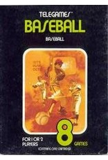 Atari 2600 Baseball (Cart Only, Text Label, No End Label)