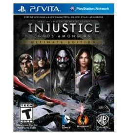 Playstation Vita Injustice: Gods Among Us Ultimate Edition (Cart Only)