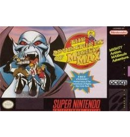 Super Nintendo Adventures of Mighty Max (Cart Only)