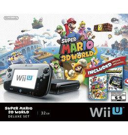 Wii U Wii U Console 32GB (Mario NintendoLand Deluxe, Games Included, CiB, Used)