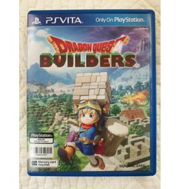 Playstation Vita Dragon Quest Builders (Asian Edition, Plays in English, Used)