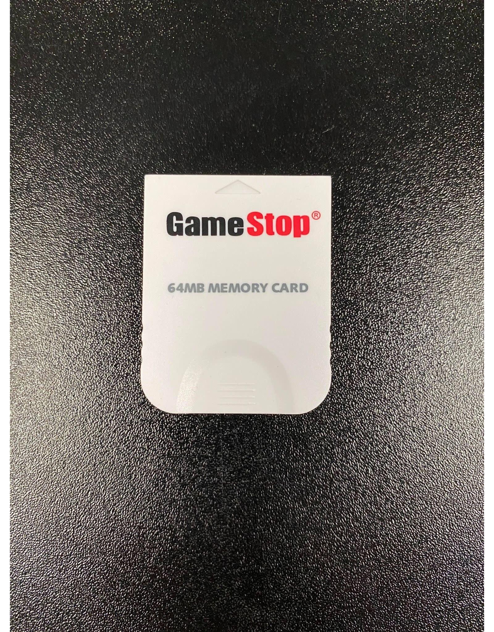 Nintendo Gamecube 64MB 1019 Block Memory Card (Gamestop, Used)