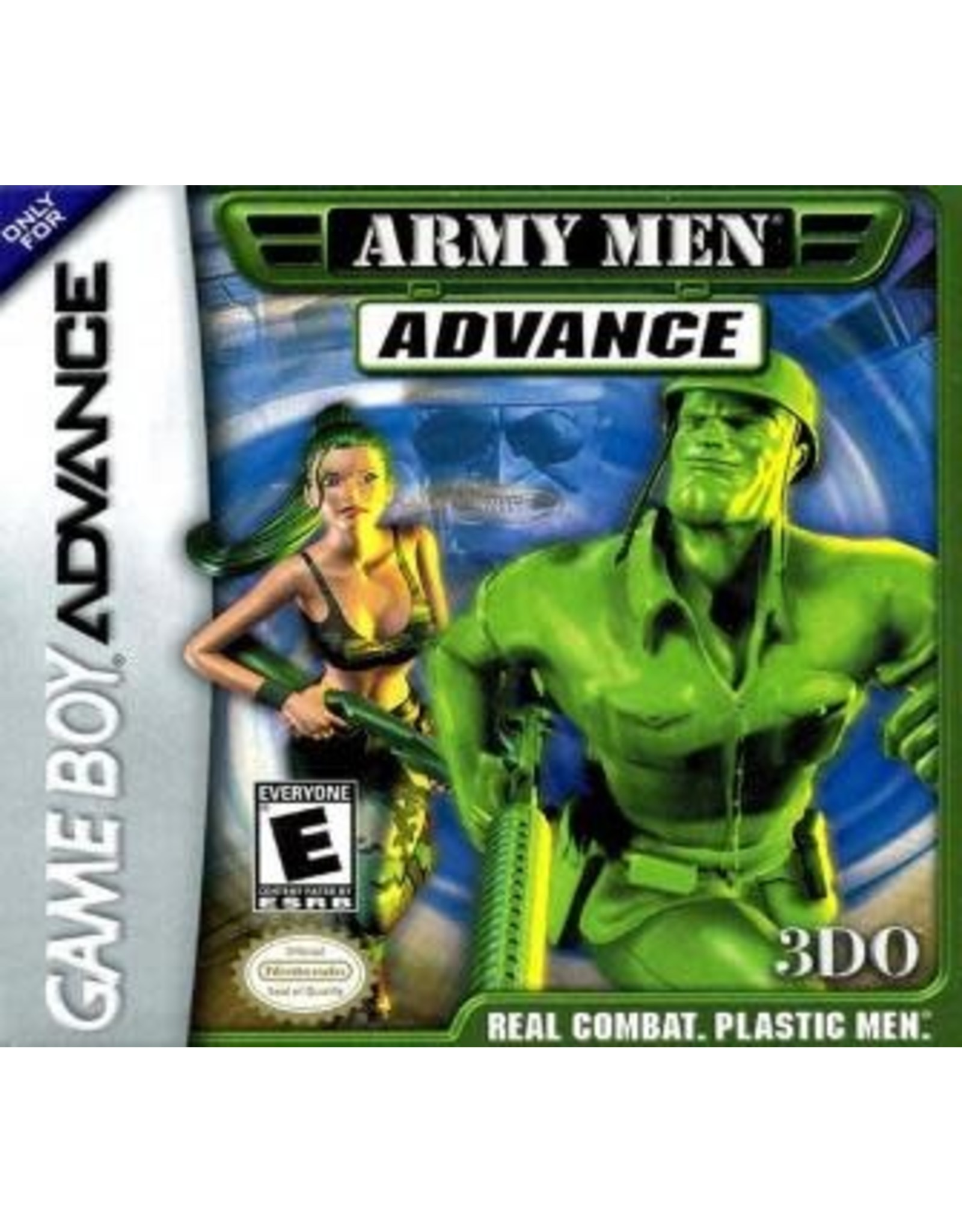 GameBoy Advance Army Men Advance (Cart Only)