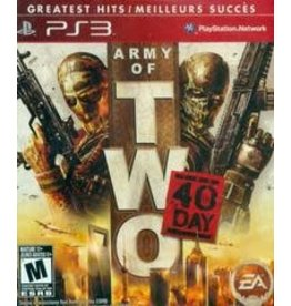 Playstation 3 Army of Two: The 40th Day (Greatest Hits, CiB)