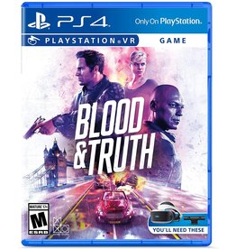 Playstation 4 Blood & Truth (PSVR, Used)