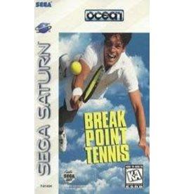 Sega Saturn Break Point Tennis (CiB, Broken Case)