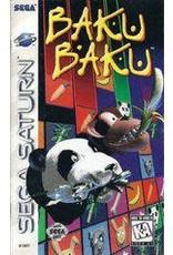 Sega Saturn Baku Baku (CiB, Cracked Case)