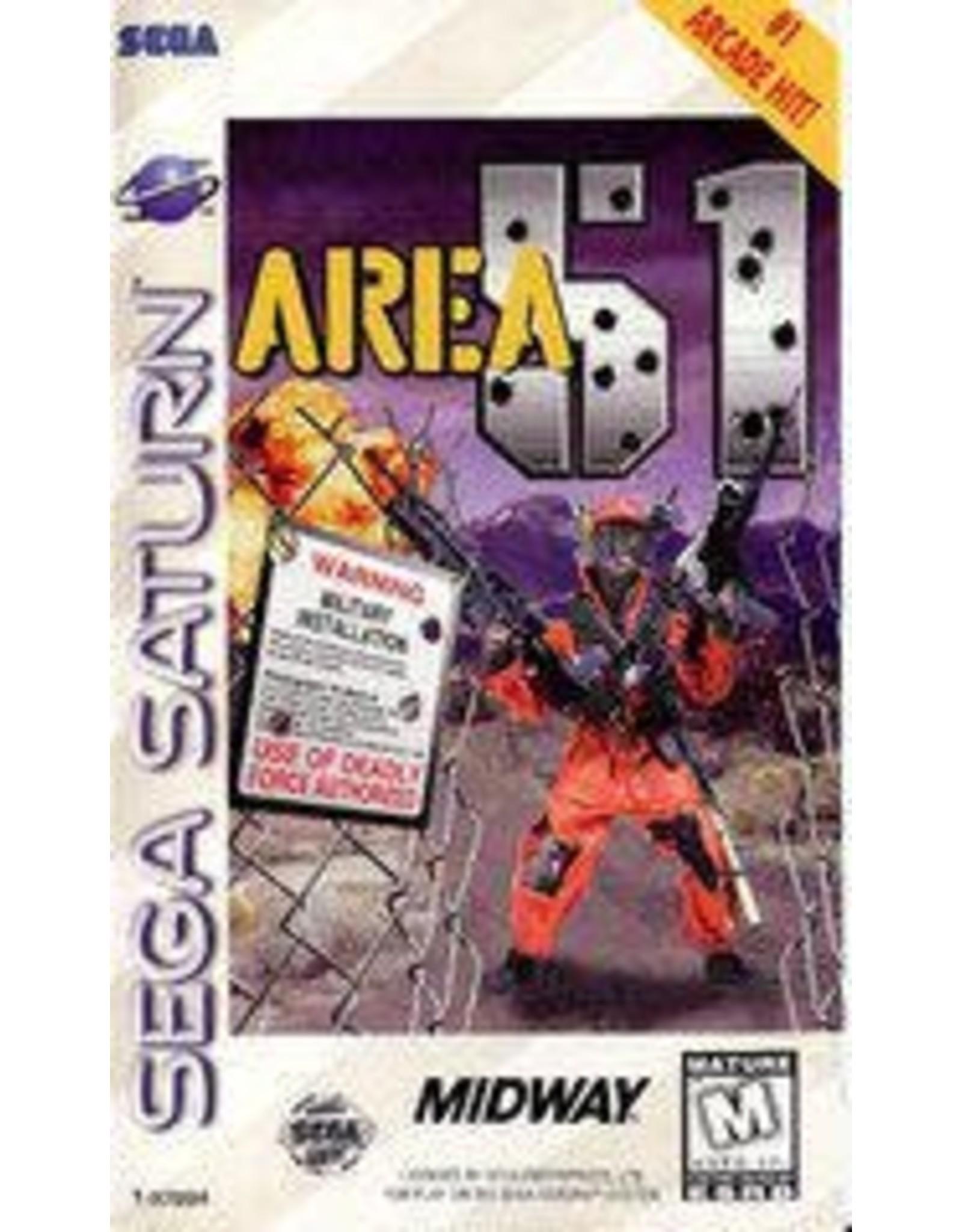 Sega Saturn Area 51 (CiB, Damaged Case)
