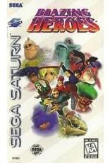 Sega Saturn Blazing Heroes (CiB)
