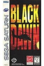 Sega Saturn Black Dawn (CiB, Damaged Case)