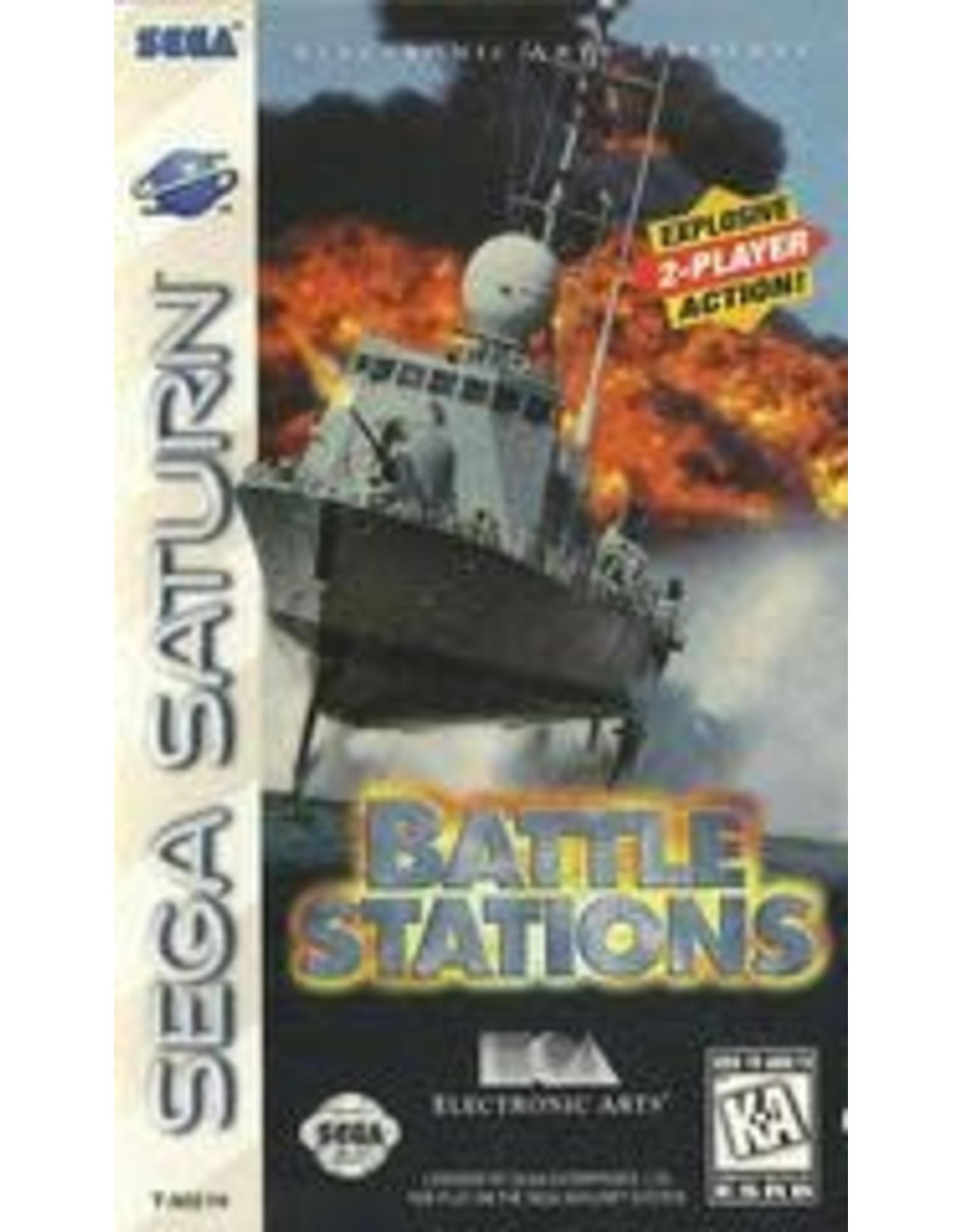 Sega Saturn Battlestations (CiB, Damaged Case)