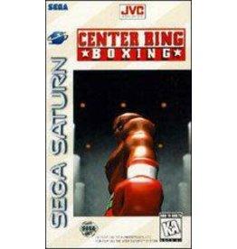 Sega Saturn Center Ring Boxing (CiB, Cracked Case)