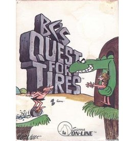 Colecovision B.C.'s Quest for Tires (Cart Only, Damaged Label)