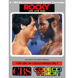 Colecovision Rocky (Cart with Overlays)