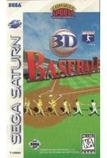 Sega Saturn 3D Baseball (CiB, Damaged Case)