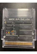 NES Action 52 (Black Circuit Board, No Label, Manual Included, Cart Only)