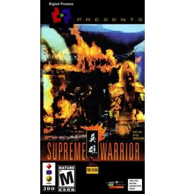 3DO Supreme Warrior (Boxed, No Manual)