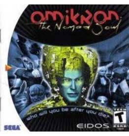 Sega Dreamcast Omikron The Nomad Soul (Disc and Manual Only)