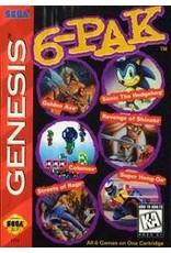 Sega Genesis 6-Pak (CiB)