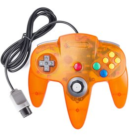 Nintendo 64 N64 Nintendo 64 Controller Fire Orange (Tomee)
