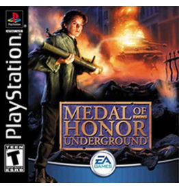 Playstation Medal of Honor Underground (No Manual)