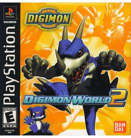 Playstation Digimon World 2 (Sticker on Disc, CiB)