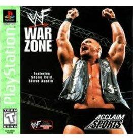 Playstation WWF War Zone Greatest Hits (CiB)