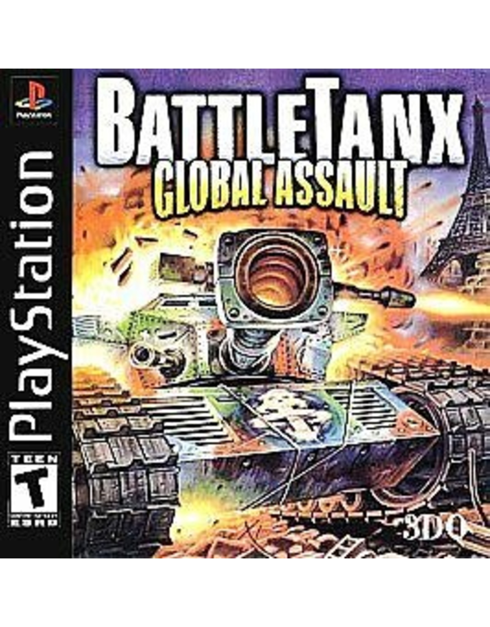 Playstation Battletanx Global Assault (CiB)