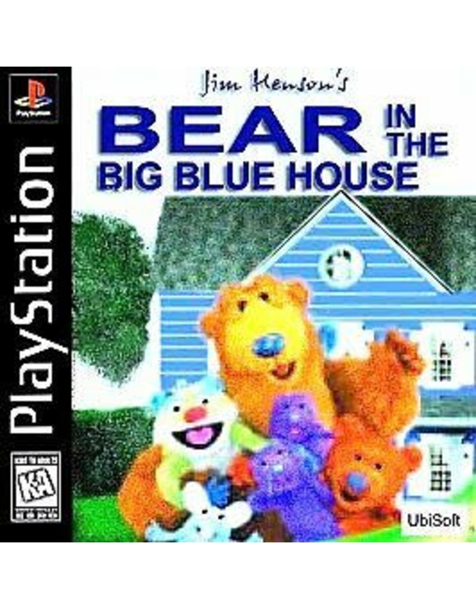 Playstation Bear in the Big Blue House (CiB)