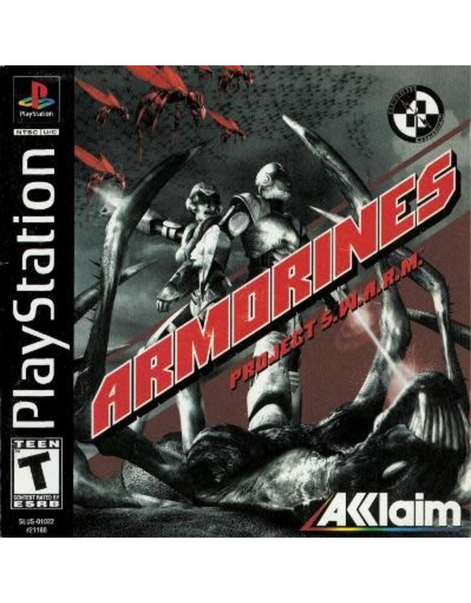 Playstation Armorines Project SWARM (CiB)