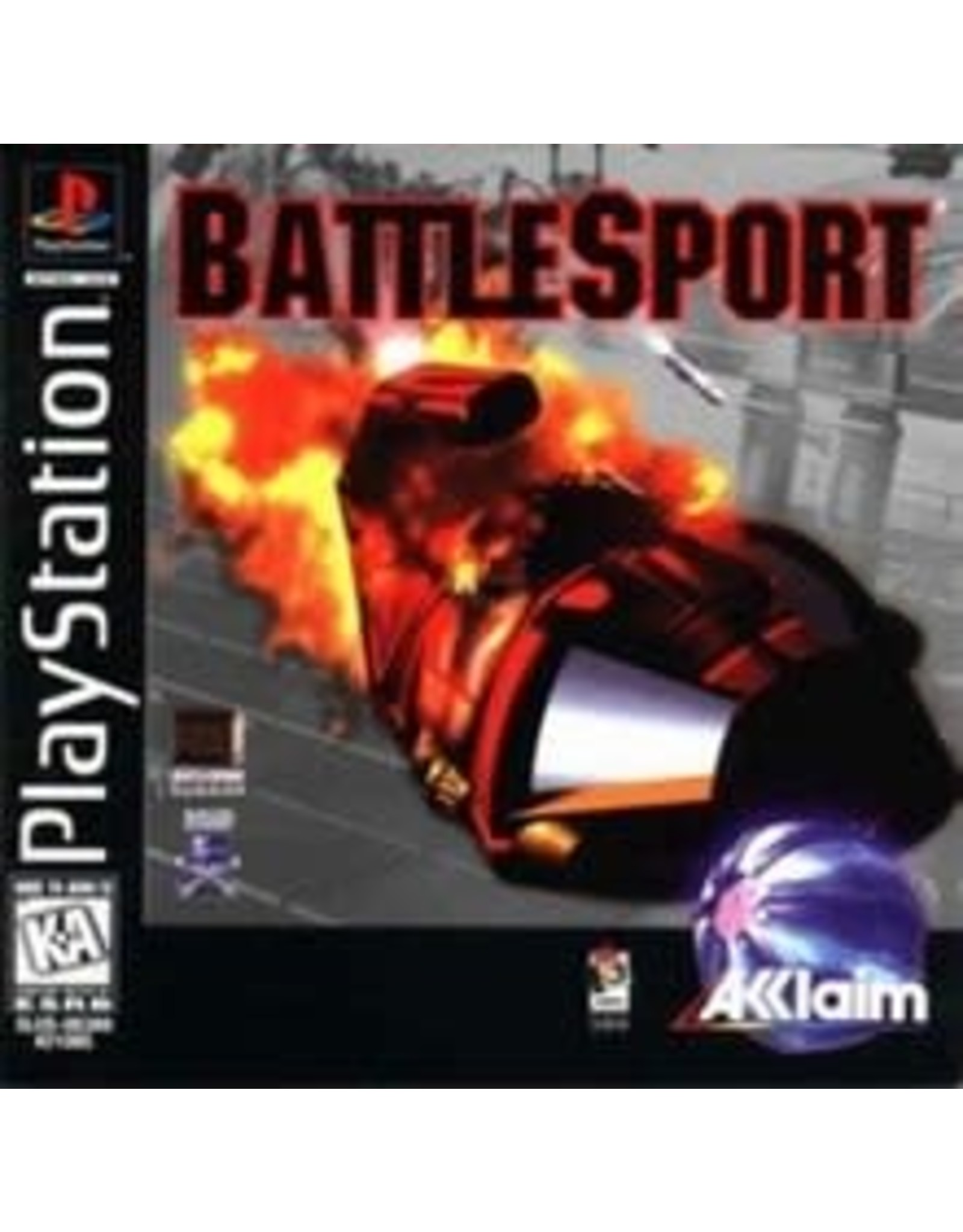 Playstation Battlesport (Stickers On Manual and Disc, CiB)