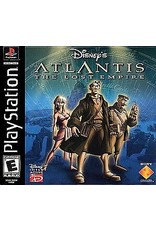 Playstation Atlantis The Lost Empire (Manual and Disc)