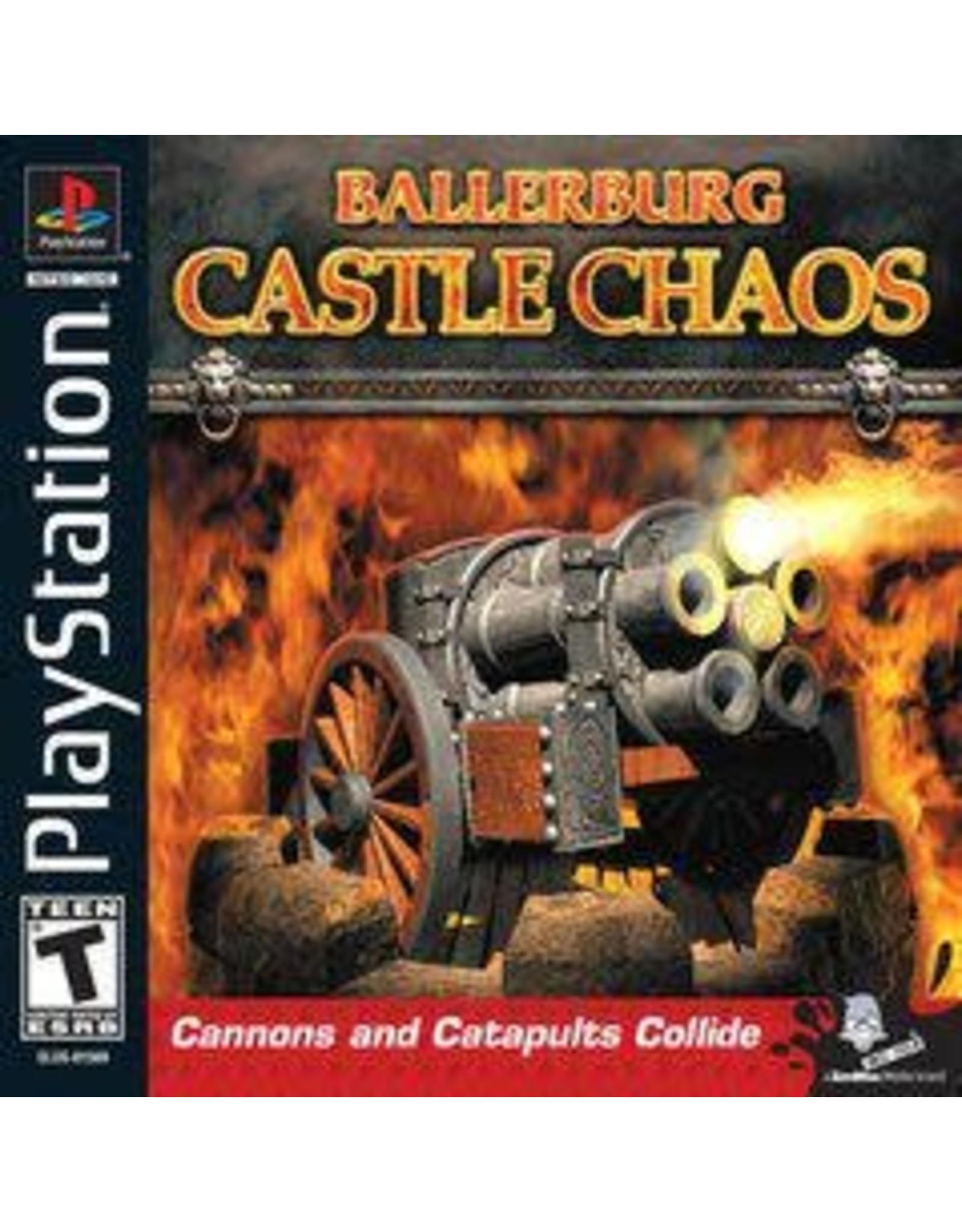 Playstation Ballerburg Castle Chaos (CiB)