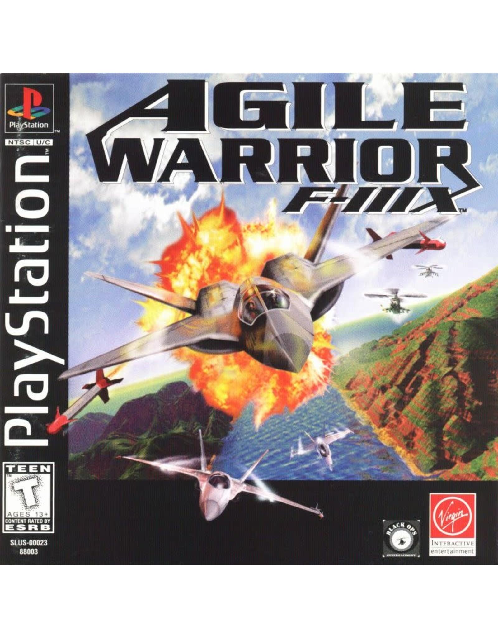 Playstation Agile Warrior F-111X (CiB)