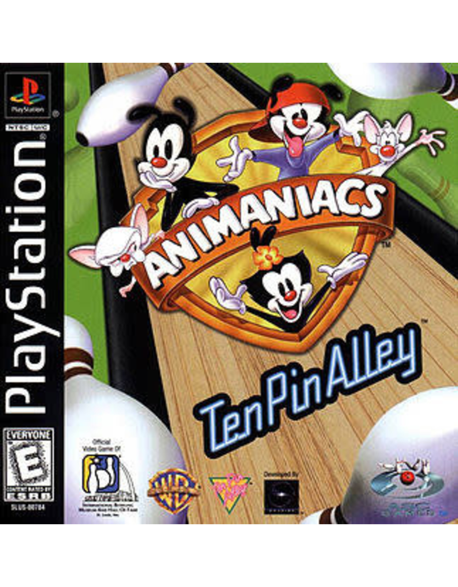 Playstation Animaniacs Ten Pin Alley (CiB)