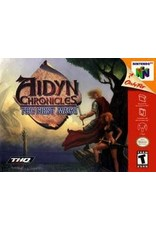 Nintendo 64 Aidyn Chronicles (CiB, Damaged Cart and Manual)