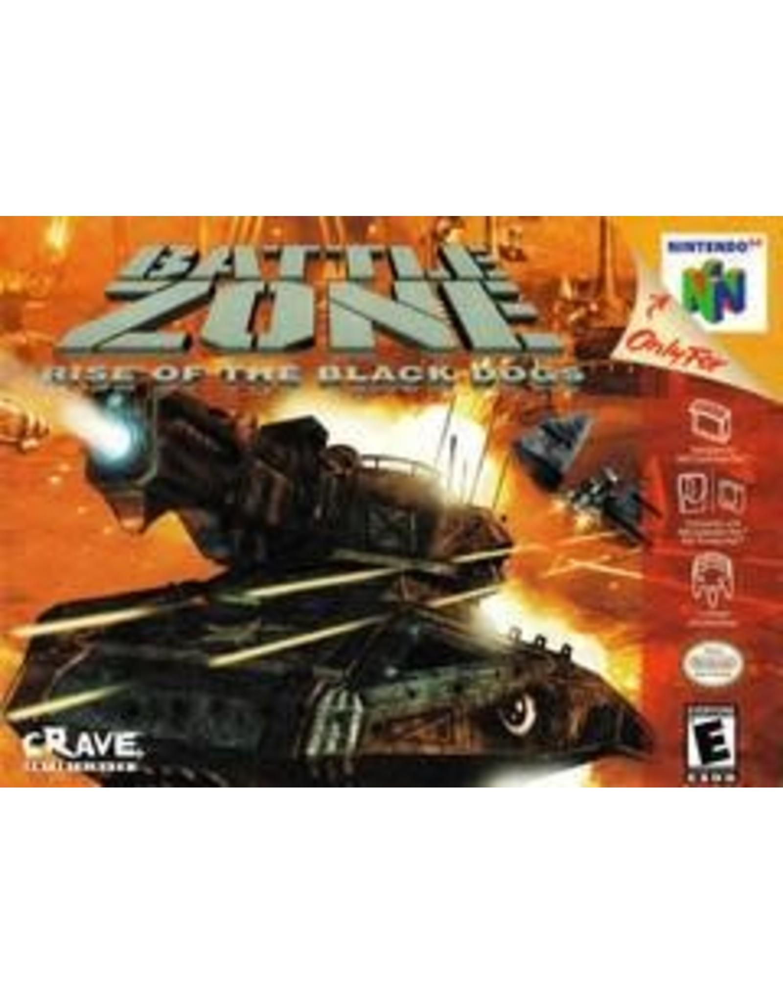 Nintendo 64 Battlezone: Rise of the Black Dogs (CiB)